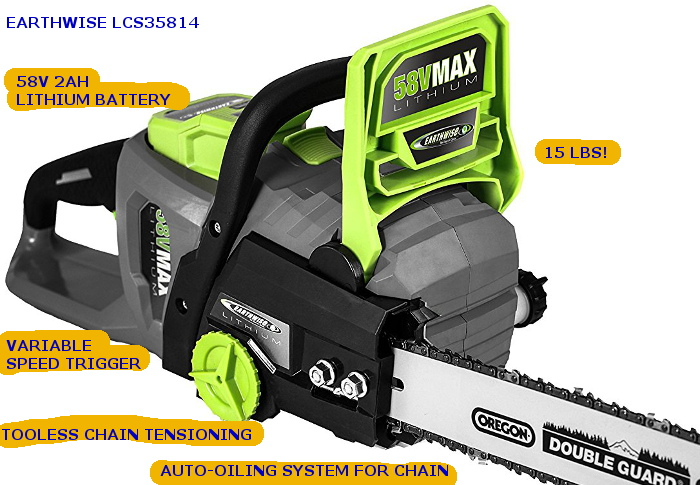 Earthwise LCS35814 features